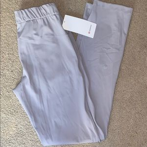 NWT Lululemon Silverscreen On The Fly Pants 4 Tall